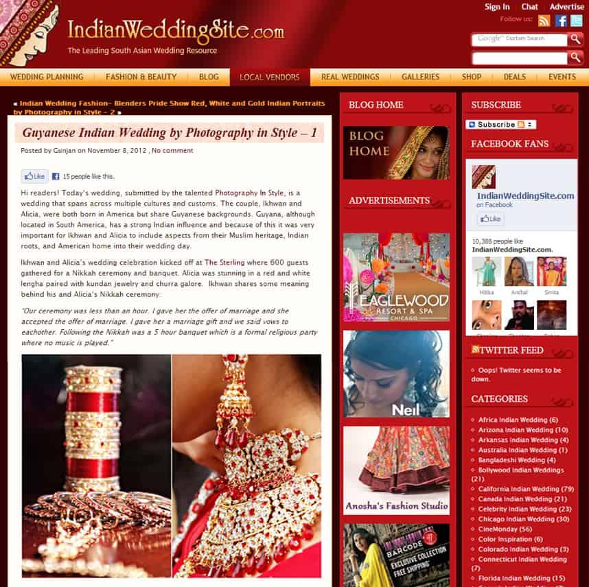 Leading Indian Wedding Photographers