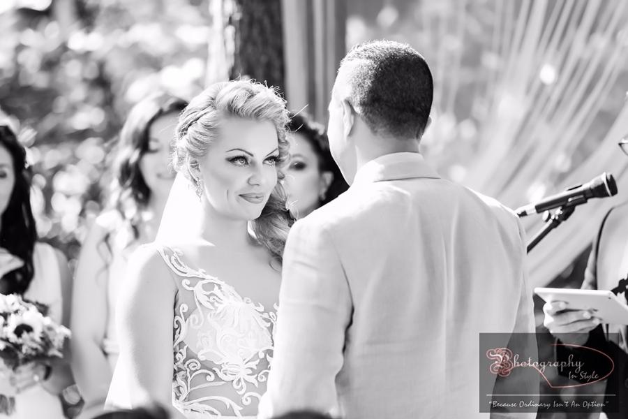 outside-wedding-ceremony-magnolia-streamside-resort