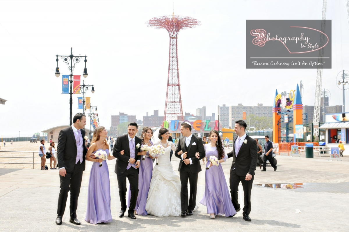 Locations At Coney Island For Wedding Photos