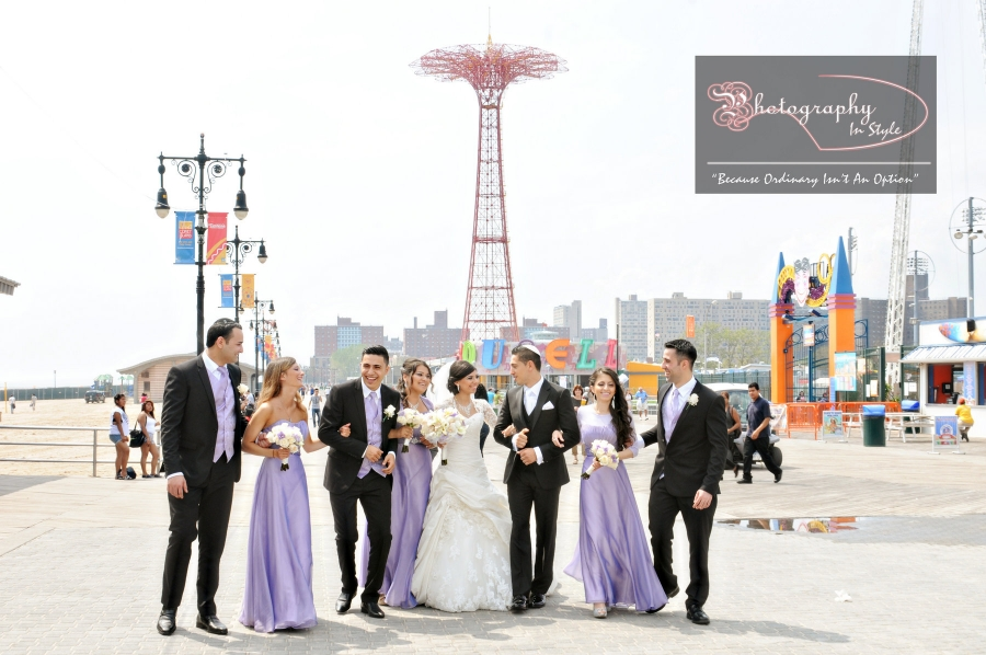 Locations At Coney Island For Wedding Photos Photography